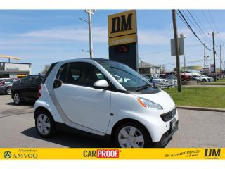 Used 2015 Smart fortwo PURE ** 3600 KM **  NAVI  CUIR  SIEGES CHAUFFANTS for sale in Salaberry-de-Valleyfield, QC