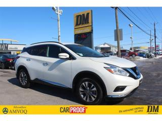 Used 2017 Nissan Murano S  NAV CAMÉRA DE RECUL  SIÈGES CHAUFFANTS for sale in Salaberry-de-Valleyfield, QC