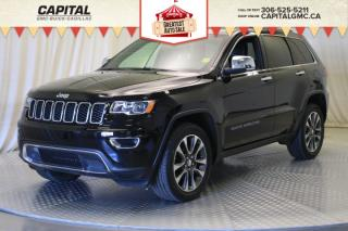 Used 2018 Jeep Grand Cherokee Limited*LEATHER*SUNROOF*NAV* for sale in Regina, SK