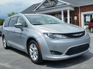 Used 2018 Chrysler Pacifica Touring-L Plus, Leather Heated Seats/Wheel, DVD, Pwr Sliding Doors/Gate, Remote Start, Bluetooth, Back Up Cam for sale in Paris, ON