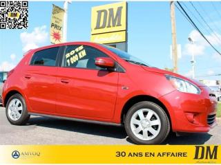 Used 2015 Mitsubishi Mirage SE ** 6 800 KM **  MAGS  SIEGES CHAUFFANTS   FOGS for sale in Salaberry-de-Valleyfield, QC
