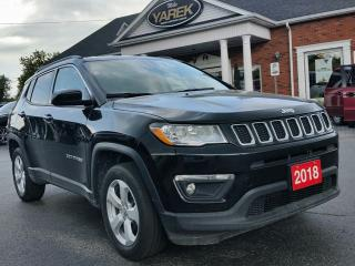 Used 2018 Jeep Compass North 4x4, Heated Seats/Wheel, Back Up Camera, Remote Start, Bluetooth for sale in Paris, ON