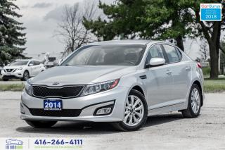 Used 2014 Kia Optima EX 1Owner Certified CleanCarfax Financing Leather for sale in Bolton, ON