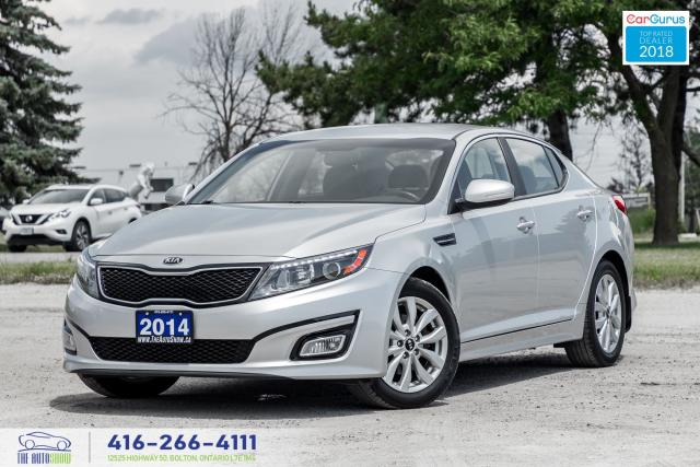 2014 Kia Optima EX 1Owner Certified CleanCarfax Financing Leather
