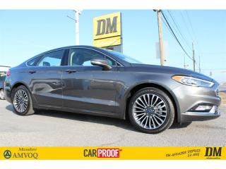 Used 2017 Ford Fusion SE AWD TOIT NAVIGATION 2.0 T CUIR for sale in Salaberry-de-Valleyfield, QC