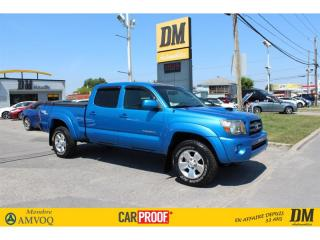 Used 2010 Toyota Tacoma SR5, AWD DOUBLECAB for sale in Salaberry-de-Valleyfield, QC