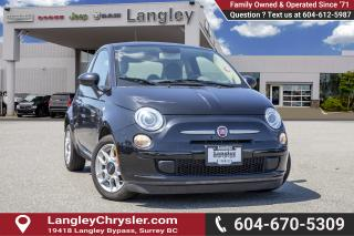 Used 2013 Fiat 500 Pop *MANUAL* *SUNROOF* for sale in Surrey, BC