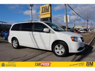 Used 2018 Dodge Grand Caravan CREW PLUS CUIR SIÈGES ET VOLANT CHAUFFANTS for sale in Salaberry-de-Valleyfield, QC
