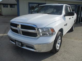 Used 2018 Dodge Ram 1500 LIKE NEW TRADESMEN EDITION 6 PASSENGER 5.7L - HEMI.. 4X4.. QUAD-CAB.. SHORTY.. BLUETOOTH.. BACK-UP CAMERA.. for sale in Bradford, ON