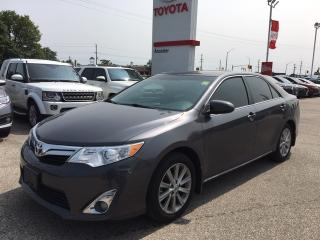 Used 2014 Toyota Camry XLE|1 OWNER|NO ACCIDENTS|NAVI|FULLY LOADED for sale in Ancaster, ON