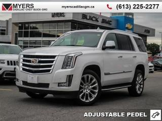 Used 2018 Cadillac Escalade Luxury  LUXURY, AWD, 6.2, SUNROOF, NAV, SURROUND VISION CAMERA for sale in Ottawa, ON