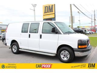 Used 2017 GMC Savana 2500 MARCHE PIEDS A/C CRUISE GR ELECTRIQUE for sale in Salaberry-de-Valleyfield, QC