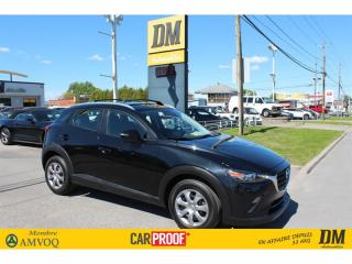Used 2019 Mazda CX-3 GX CAMÉRA RECUL DET. ANGLE MORT ENTRÉE SANS CLÉ for sale in Salaberry-de-Valleyfield, QC