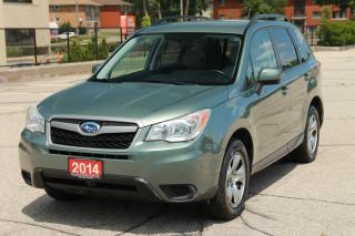 Used 2014 Subaru Forester 2.5i 1-Owner   NO Accident   CERTIFIED for sale in Waterloo, ON