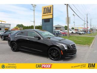 Used 2018 Cadillac ATS LUXURY *** PDSF 57 030 $ *** MANUELLE 6 VITESSES for sale in Salaberry-de-Valleyfield, QC