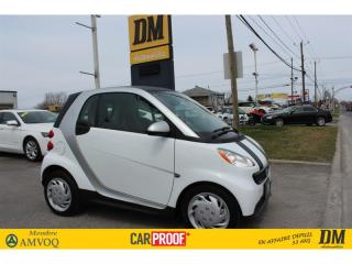 Used 2015 Smart fortwo PURE 16284 KM NAVIGATION SIÈGES CHAUFFANTS for sale in Salaberry-de-Valleyfield, QC