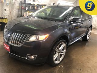 Used 2014 Lincoln MKX AWD * Power Sunroof * Navigation * Leather interior * 22 Inch chrome rims *  My Lincoln premium audio system * Blind spot assist * Collision warning s for sale in Cambridge, ON