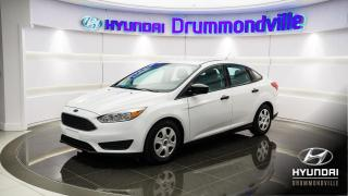Used 2015 Ford Focus S + GARANTIE + CAMÉRA + A/C + BLUETOOTH for sale in Drummondville, QC