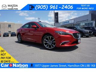 Used 2016 Mazda MAZDA6 GT | LEATHER | NAV | SUNROOF | REAR CAM for sale in Hamilton, ON