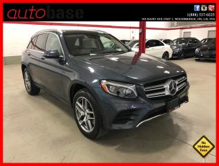 Used 2016 Mercedes-Benz GL-Class GLC300 4MATIC DISTRONIC HUD BURMESTER  SPORT for sale in Vaughan, ON