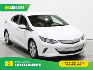 Used 2017 Chevrolet Volt PREMIER A/C MAGS for sale in St-Léonard, QC