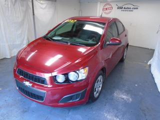 Used 2012 Chevrolet Sonic LS for sale in Ancienne Lorette, QC