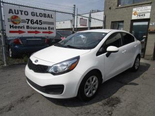 Used 2014 Kia Rio BERLINE A/C for sale in Sherbrooke, QC