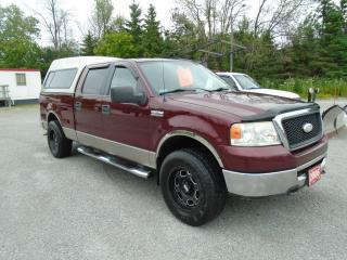 Used 2006 Ford F-150 XLT Super Crew 4X4 for sale in Beaverton, ON