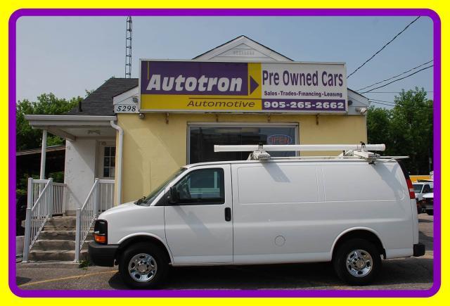 2012 Chevrolet Express 2500 3/4 Ton Cargo Van, Hitch, Shelves