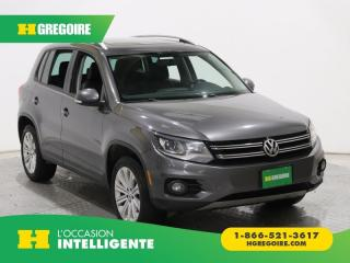 Used 2014 Volkswagen Tiguan Trendline A/c Mags for sale in St-Léonard, QC