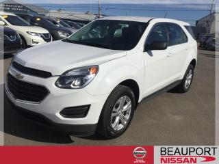 Used 2016 Chevrolet Equinox LS AWD ***BALANCE GARANTIE*** for sale in Beauport, QC