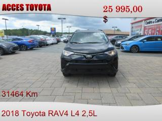 Used 2018 Toyota RAV4 AWD LE for sale in Rouyn-Noranda, QC