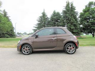 Used 2014 Fiat 500 SPORT- ONE OWNER for sale in Thornton, ON