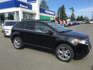 Used 2013 Ford Edge Limited for sale in Duncan, BC