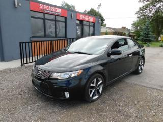 Used 2011 Kia Forte SX LuxurY|LEATHER|SUNROOF|NAVIGATION for sale in St. Thomas, ON