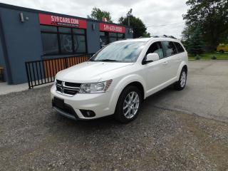 Used 2013 Dodge Journey Crew|DVD|7 PASSENGER|BACKUP CAMERA for sale in St. Thomas, ON