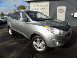 Used 2012 Hyundai Tucson ***GLS,4X4,AUTOMATIQUE,CLEAN CARPROOF*** for sale in Longueuil, QC