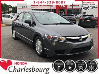 Used 2010 Honda Civic 4 portes, boîte automatique, DX-G for sale in Charlesbourg, QC