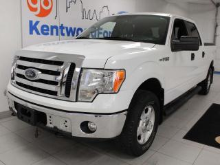 Used 2012 Ford F-150 XLT 4X4 with 3 front seats, keyless entry, and power seats for sale in Edmonton, AB