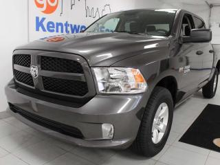 Used 2019 RAM 1500 Classic Classic 5.7L 4x4 with a back up cam. Basically new for sale in Edmonton, AB