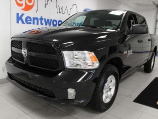 Used 2019 RAM 1500 Classic Express 4X4 with 3 front seats, back up cam, and low kms! for sale in Edmonton, AB