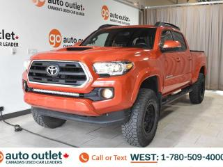 Used 2016 Toyota Tacoma TRD, 4X4, DOUBLECAB, NAVIGATION, HEATED FRONT SEATS, BACKUP CAMERA, SUNROOF for sale in Edmonton, AB