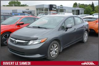 Used 2012 Honda Civic Lx - A/c - Grp for sale in Ile-des-Soeurs, QC