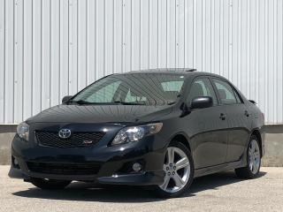 Used 2009 Toyota Corolla XRS for sale in Mississauga, ON