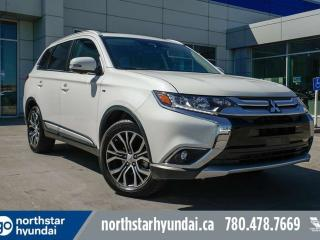 Used 2018 Mitsubishi Outlander GT 7PASS/LEATHER/NAV/SUNROOF/BACKUPCAM for sale in Edmonton, AB