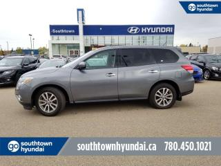 Used 2015 Nissan Pathfinder S/4WD/POWER OPTIONS/PUSH START for sale in Edmonton, AB
