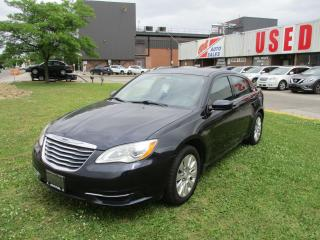 Used 2012 Chrysler 200 LX~LOW KM'S~CERTIFIED!!! for sale in Toronto, ON