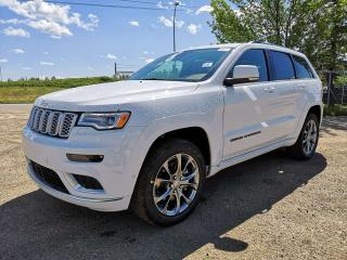 New 2019 Jeep Grand Cherokee Summit for sale in Edmonton, AB