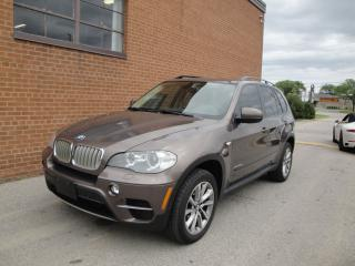 Used 2012 BMW X5 35D DIESEL, NO ACCIDENT, NAVI, CAMERA, PANO ROOF for sale in Oakville, ON