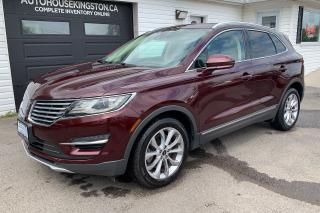 Used 2016 Lincoln MKC Heated and Cooled Leather for sale in Kingston, ON